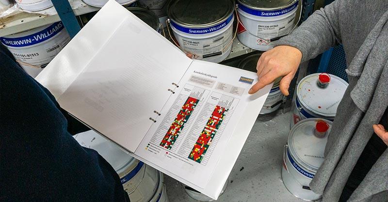 Utbildning för säker hantering av Industrifärg av Syntema